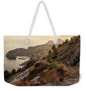 Sunset Over Dubrovnik Weekender Tote Bag