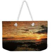 Sunset Over Hawaii Weekender Tote Bag
