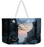 Sunset Over Helsinki Weekender Tote Bag