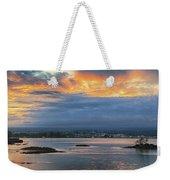 Sunset Over Hilo Weekender Tote Bag