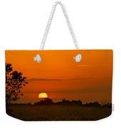 Sunset Over Horicon Marsh Weekender Tote Bag