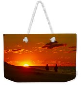 Sunset Over Indiana Dunes Weekender Tote Bag