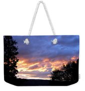 Sunset Over Kalamalka Weekender Tote Bag