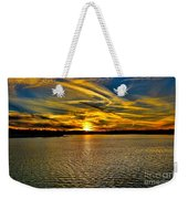 Sunset Over Lake Palestine Weekender Tote Bag
