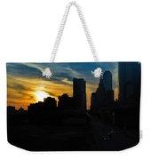 Sunset Over Main Street Weekender Tote Bag