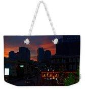 Sunset Over Nashville Weekender Tote Bag