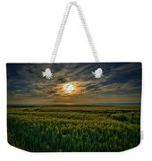 Sunset Over North Pas De Calais In France Weekender Tote Bag