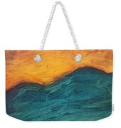 Sunset Over Rendezvous  Weekender Tote Bag