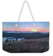 Sunset Over San Juan Islands Weekender Tote Bag