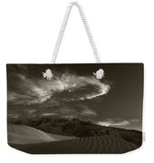 Sunset Over Sand Dunes Death Valley Weekender Tote Bag
