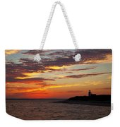 Sunset Over Sandy Neck Lighthouse Weekender Tote Bag