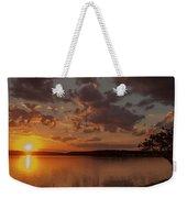 Sunset Over Shark River Weekender Tote Bag