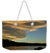 Sunset Over South Island Of New Zealand Weekender Tote Bag