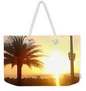 Sunset Over St Augustine Florida Weekender Tote Bag