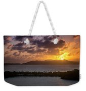 Sunset Over St. Thomas Weekender Tote Bag