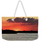 Sunset Over Tampa Bay 2 Weekender Tote Bag