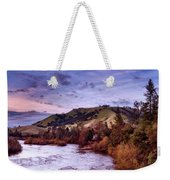 Sunset Over The American River Weekender Tote Bag