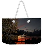 Sunset Over The Caloosahatchee Weekender Tote Bag
