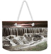 Sunset Over The Dam Weekender Tote Bag