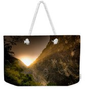 Sunset Over The Gorge Weekender Tote Bag