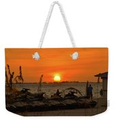 Sunset Over The Gulf 1 Weekender Tote Bag