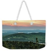 Sunset Over The Lakes Weekender Tote Bag
