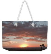 Sunset Over The Mara Weekender Tote Bag