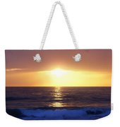 Sunset Over The Pacific Weekender Tote Bag