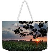 Sunset Over The Plains Weekender Tote Bag
