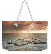 Sunset Over The Sea In Israel Weekender Tote Bag