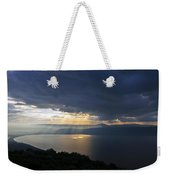 Sunset Over The Sea Of Galilee Weekender Tote Bag