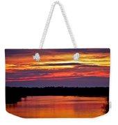 Sunset Over The Tomoka Weekender Tote Bag