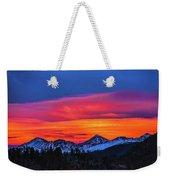 Sunset Over Torreys And Grays Peaks Weekender Tote Bag