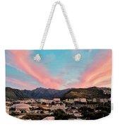 Sunset Over Uh Manoa Weekender Tote Bag
