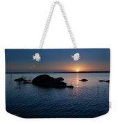 Sunset Over Wilson Lake Weekender Tote Bag