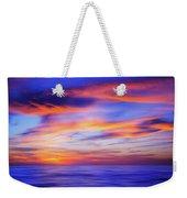 Sunset Palette Weekender Tote Bag