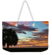 Sunset Palm Florida Weekender Tote Bag