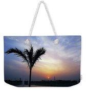 Sunset - Palm Tree Weekender Tote Bag