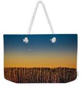 Sunset Plane Weekender Tote Bag