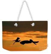 Sunset Race Weekender Tote Bag