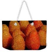 Sunset Raspberries Weekender Tote Bag