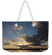 Sunset Rays On The Shore Weekender Tote Bag