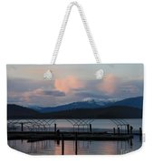 Sunset Reflecting Off Priest Lake Weekender Tote Bag