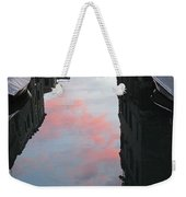 Sunset Reflections In Venice Weekender Tote Bag