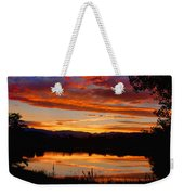 Sunset Reflections Weekender Tote Bag