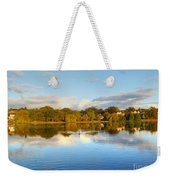 Sunset Reflections On The Lake Weekender Tote Bag