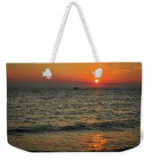 Sunset Ride Cape May Point Nj Weekender Tote Bag