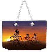 Sunset Riders Weekender Tote Bag