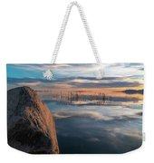 Sunset Rock Weekender Tote Bag