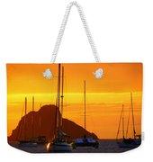 Sunset Sails Weekender Tote Bag by Karen Wiles